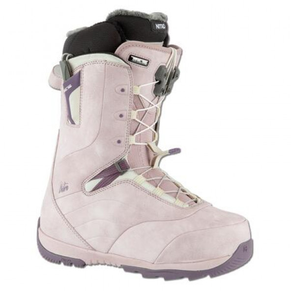 Nitro Crown TLS dame snowboardstøvle - Rose Purple
